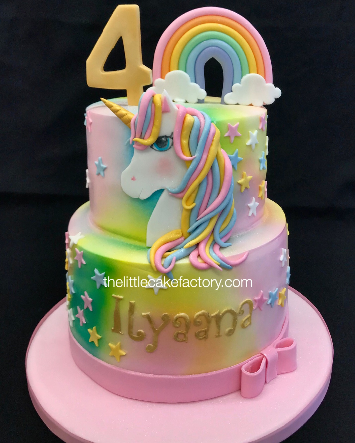 Multicolour unicorn cake from £185 Cake | Children Cakes