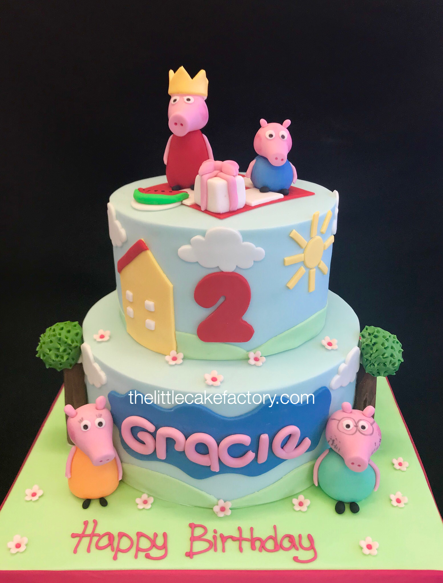 peppa pig picnic cake from £235 Cake | Children Cakes