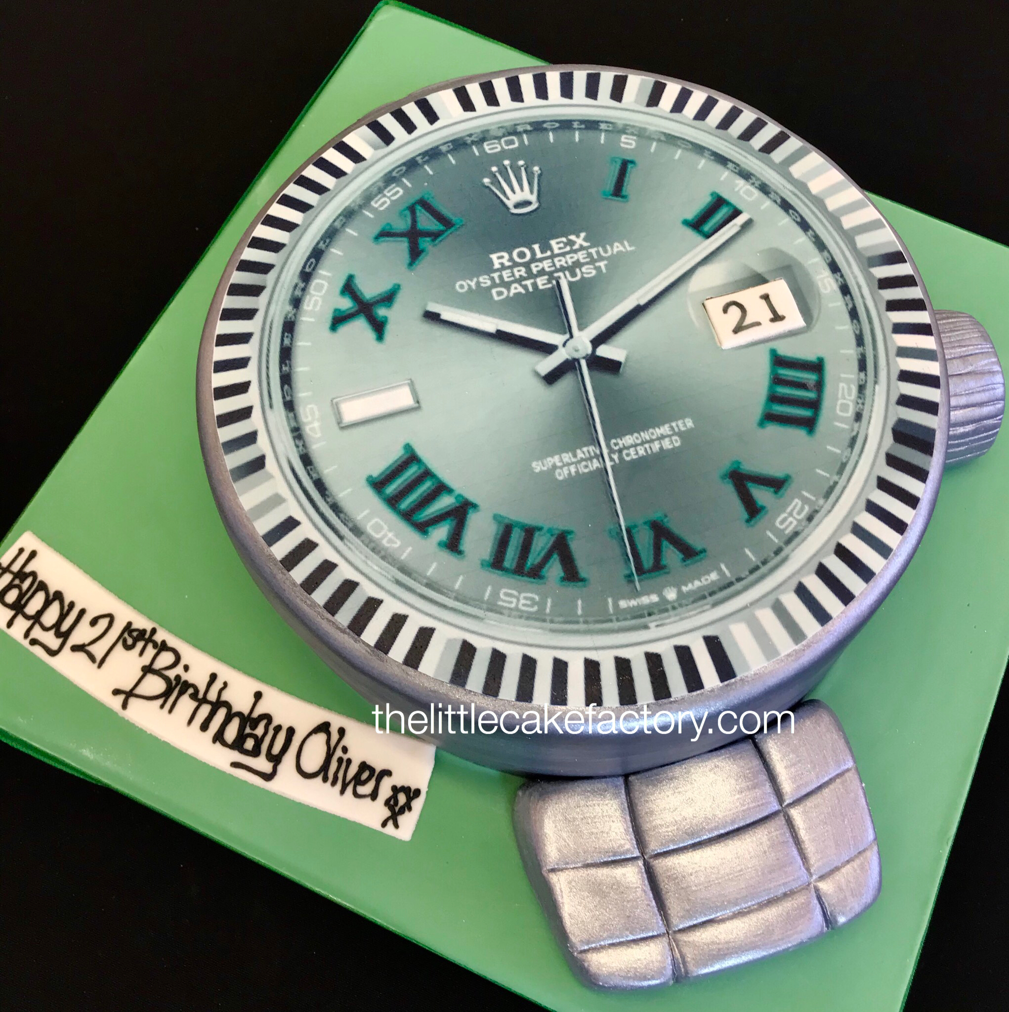 rolex wimbledon watch cake Cake | Celebration Cakes
