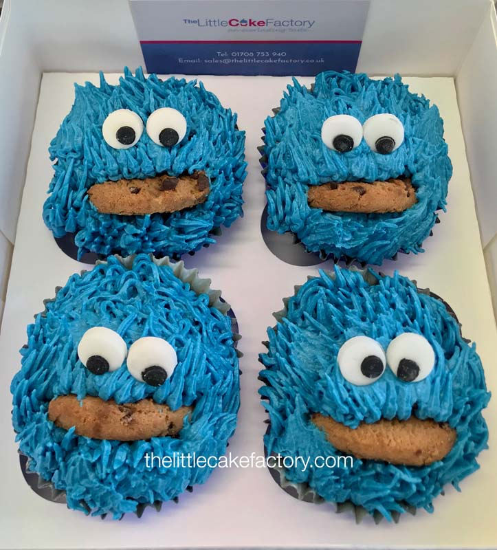 cookie monster 2 Cake | CUPCAKES Cakes
