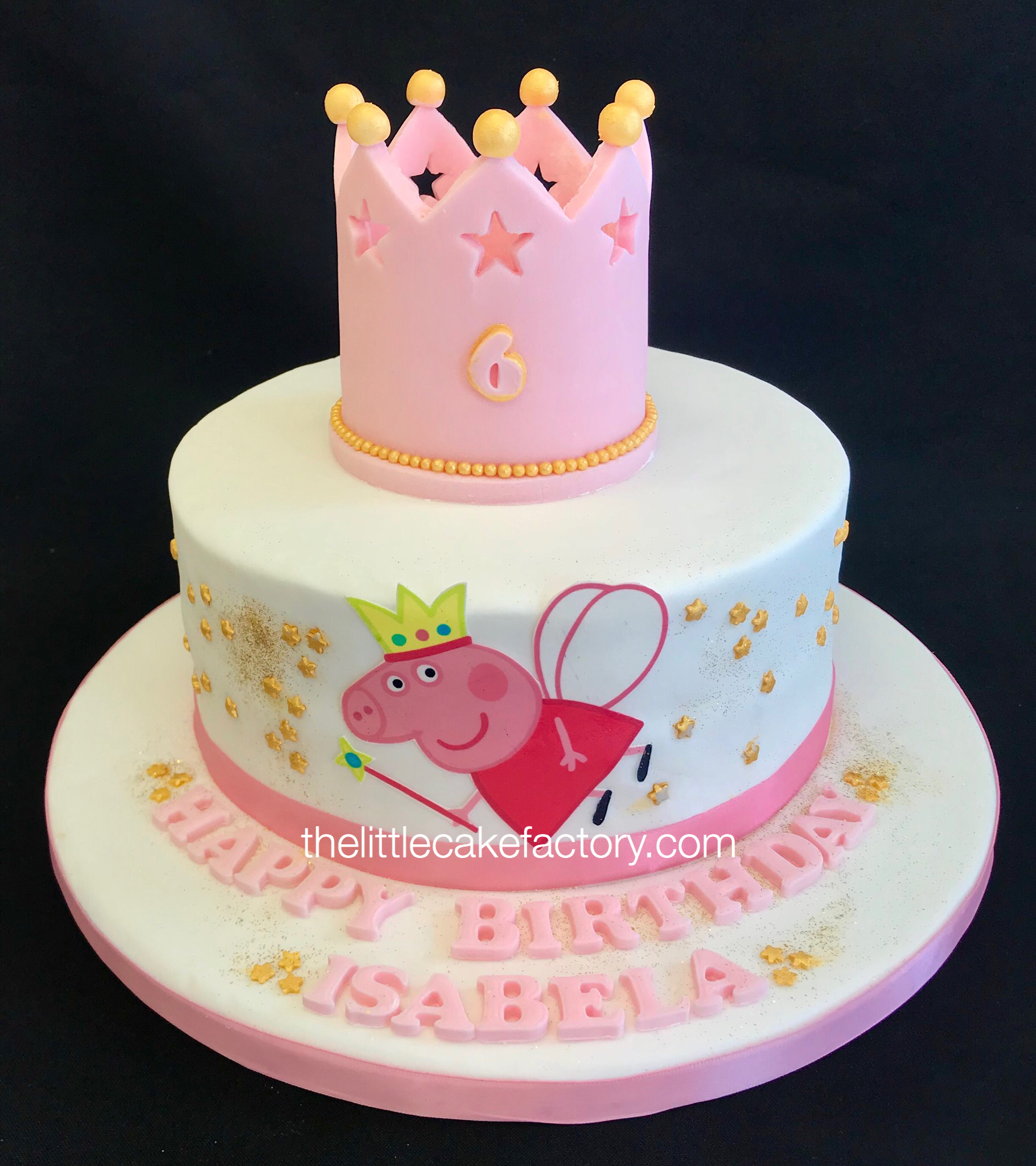 peppa pig crown cake from £105 Cake | Children Cakes