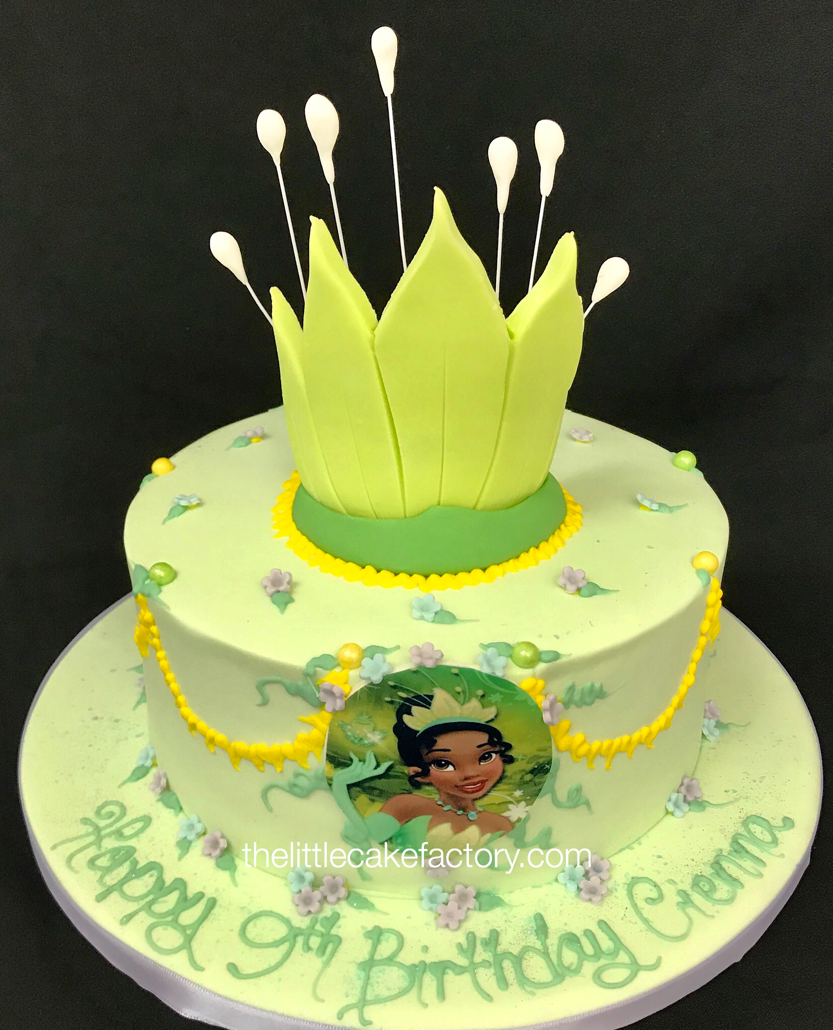 princess tiana 3rd edition Cake | Children Cakes