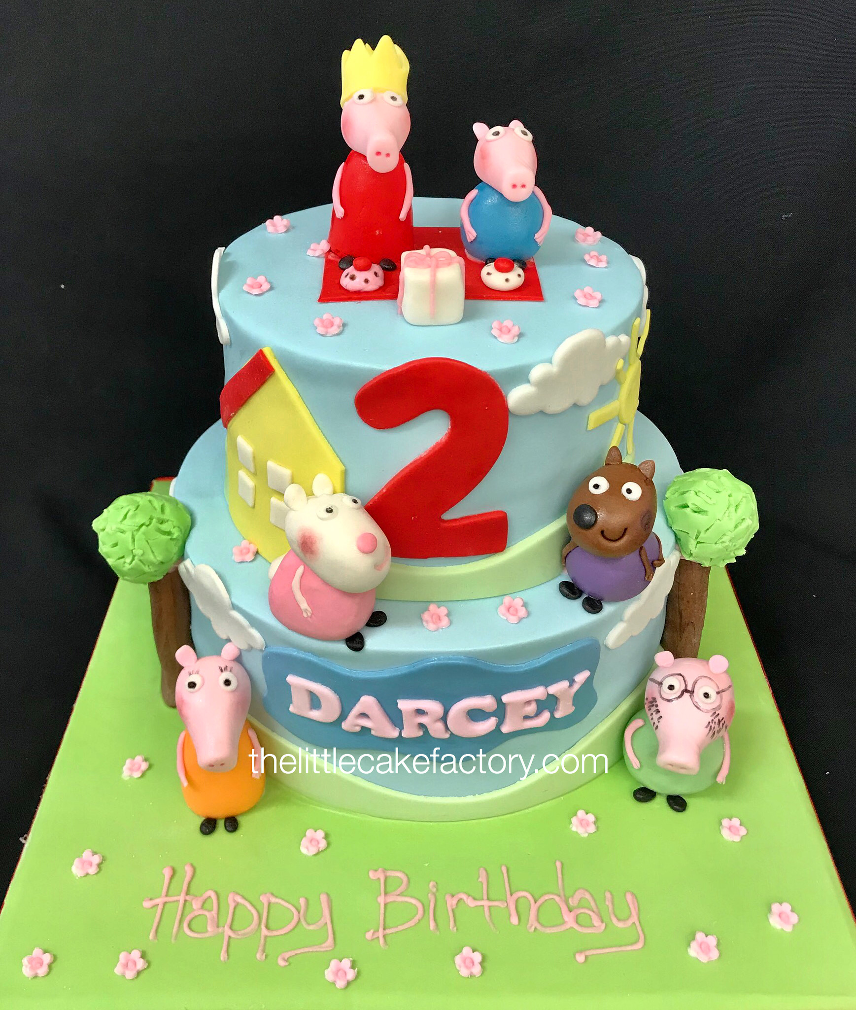peppa pig friends From £250 Cake | Children Cakes