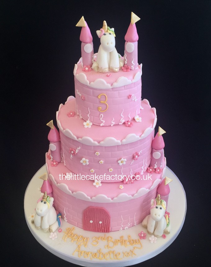 Unicorn Tower Cake |  Cakes